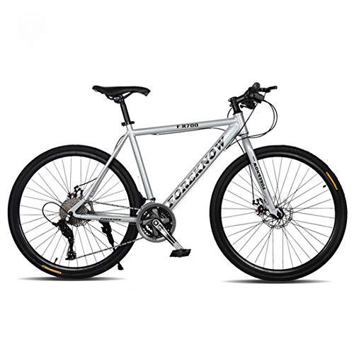 Bicicleta de montaña, de 26 pulgadas bicicleta de montaña, 21 de velocidad / velocidad 24/27 velocidad de cercanías, Frenos de disco doble, Hombre y estudiante de Bicicletas-ruedas de radios,B,24