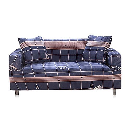 Funda de sofá con diseños geométricos elásticos, Fundas de sofá, Fundas de sofá, decoración del hogar, Protector de sofá A9, 1 Plaza