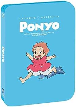 Ponyo Limited Edition Steelbook [Blu ray + DVD]