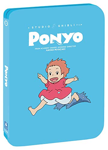 Ponyo - Limited Edition Steelbook [Blu ray + DVD] [Blu-ray]