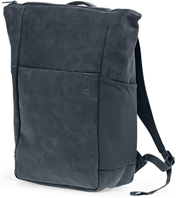 AEP Rucksack Sleek Line Premium Business Backpack 15 Zoll Notebookfach wasserabweisend - Grau