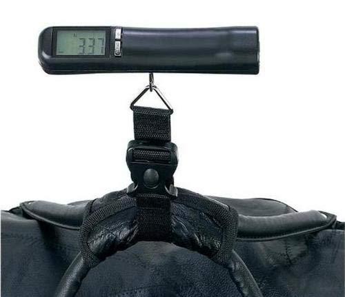 Escala digital portátil portátil de calidad de mano ligera de viaje Gadget para equipaje maleta bolsa