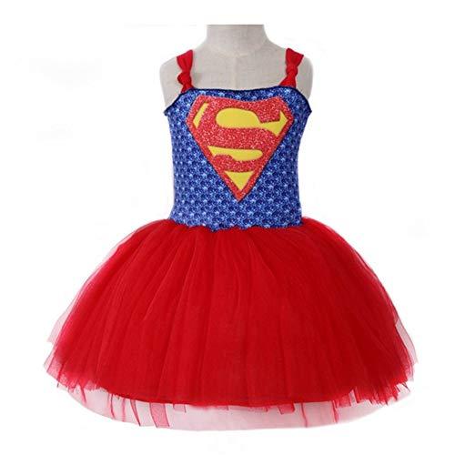 QWG Vestido de Princesa Vestido de tut de Verano para nias Disfraz de beb Inspirado en el Carnaval Nios Cosplay Vestido de Halloween de Navidad