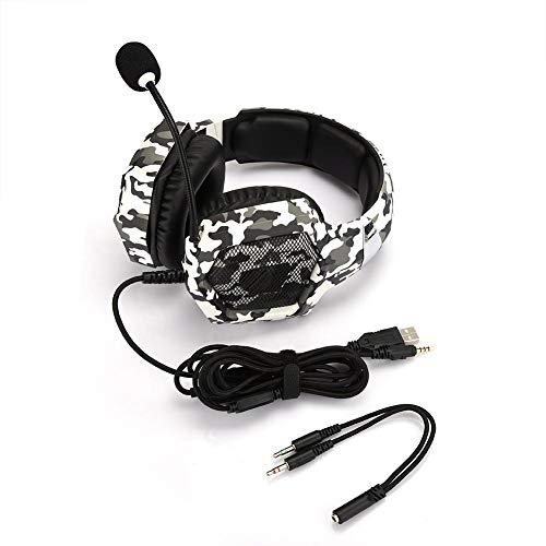 Kopfhörer-Gaming-Stereo-Rauschunterdrückung über kabelgebundenes Headset für PS4-Computer-PC-Spieler