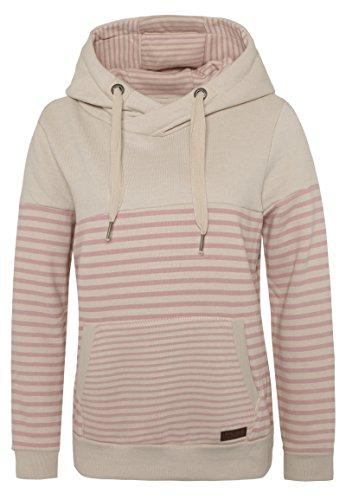 Sublevel Damen D1074L01736A Sweatshirt, Beige (Birch Beige Melange 20200), 38 (Herstellergröße: M)