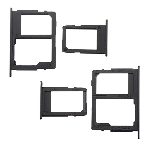 BisLinks for Samsung Galaxy J5 J7 2017 Sim Micro SD Card Tray Holder Slot Black J530 J730