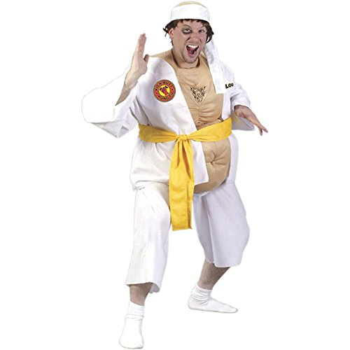 Adult Men's Fat Karate Guy Funny Costume
