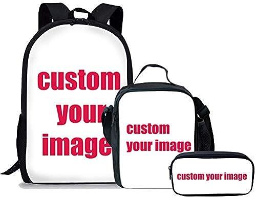 HPADR Kinderrucksack Anpassbare Schultüte, Die Kinderschule Rucksack Der Jungen Tasche Bedrucken W