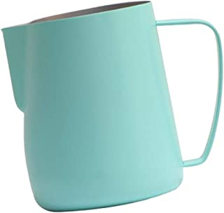 UPKOCH Milk Frothing Pitcher Steaming Pitcher Metal Milk Cup Stainless Steel Coffee Latte Art Pitchers Milk Jug Cup