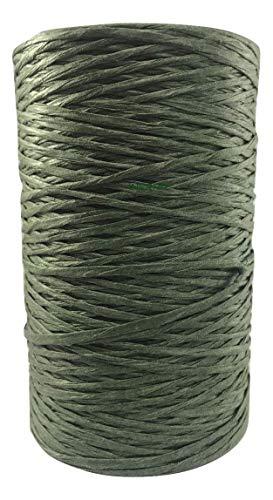 INERRA papier gecoate draad - 200m / 656ft rollen - groen of natuurlijk 1 Roll Groen