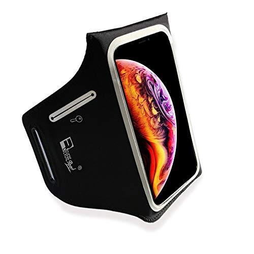 RevereSport wasserdichte Sportarmband für iPhone 11 Pro. Armband Telefon Handyhalter Case für Laufen, Workout, Joggen und Fitness