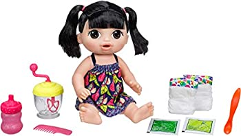 Baby Alive Sweet Spoonfuls Baby  Black Straight Hair