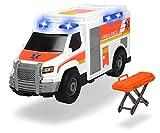 Dickie Toys Action Series - Ambulancia con Luz y Sonido, para Niños a partir de 3 Años - 30 cm