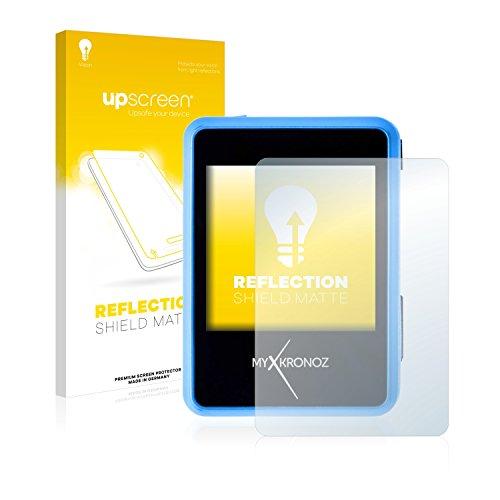 upscreen Entspiegelungs-Schutzfolie kompatibel mit MyKronoz ZeNano – Anti-Reflex Bildschirmschutz-Folie Matt