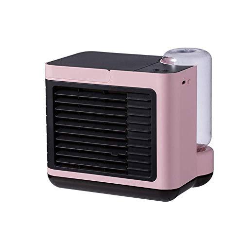 HaoLi Negativer Ionenkühler USB Wiederaufladbare Mini Small Home Desktop-Klimaanlage mit Wasserkühlventilator