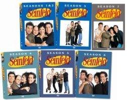 Seinfeld New life Seasons Denver Mall 1-7 DVD Set First Seven Season 2 3 5 6 4 1 7