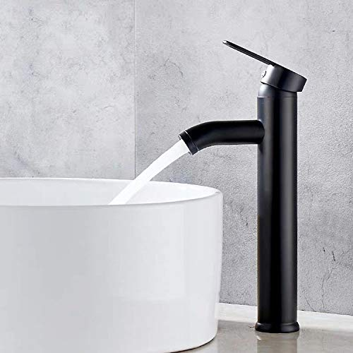 Robinet de salle de bain, robinet de lavabo noir,...