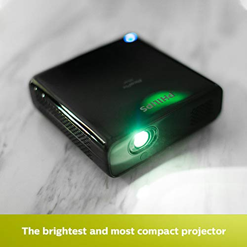 Philips PicoPix Max Projector, Full HD with Android 9, Wi-Fi, Bluetooth, USB-C, HDMI