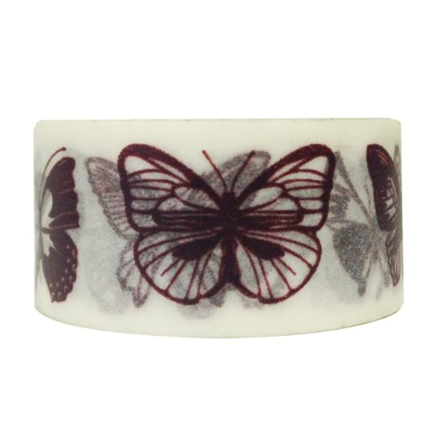 Wrapables Floral and Nature Washi Masking Tape, Flutter