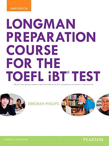 Longman Preparation Course for the TOEFL® iBT Test, with MyLab English and online access to MP3 files, without Answer Key