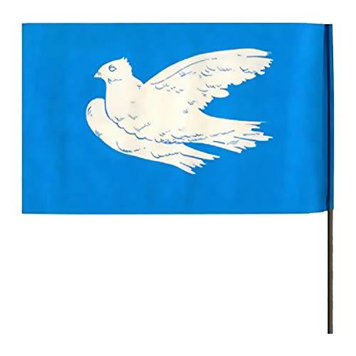 Ostprodukte-Versand.de Papierfahne Friedensfahne Winkelement - Ossi Artikel - DDR Produkte