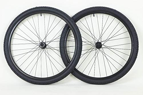 26 inch Alloy Wheels ATB Bike Bicycle Centerlock Hubs and Cassette 26 x 2.0 Kendra Kobra Tire and Tube
