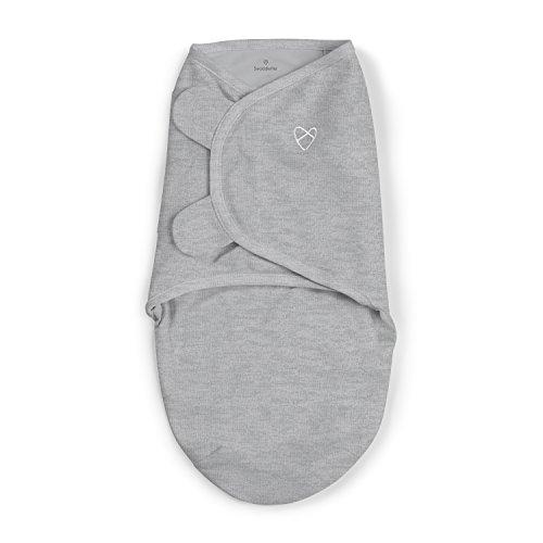 SwaddleMe Original Swaddle – Size Large, 3-6 Months, 1-Pack (Heathered Gray)