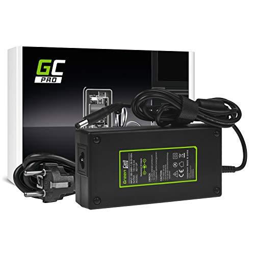 GC Pro 19V 9.5A 180W Cargador Compatible con HP 611485-001 HSTNN-LA03 PA-1181-02 Adaptador de Corriente para Portátil, Tipo de Enchufe: Redondo con Pin (7.4-5.0mm)