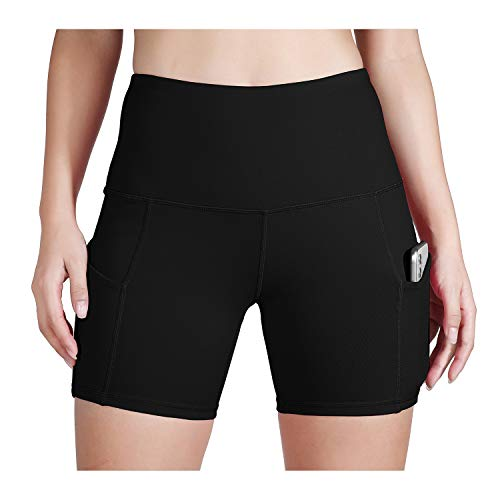 ODODOS Women's Out Pockets High Waisted Workout Shorts