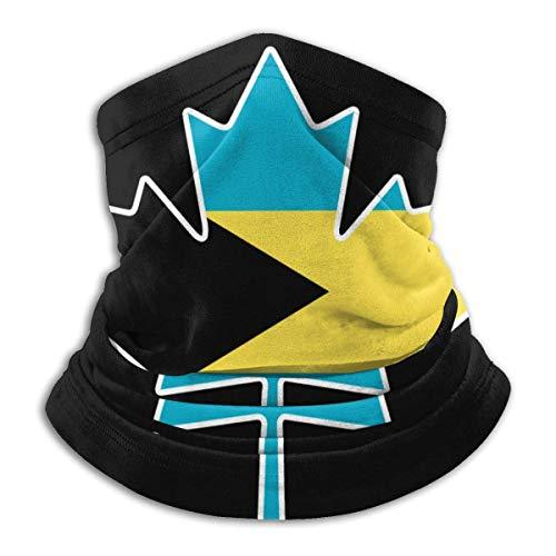 Neck Gaiter Bahamas Flag Canada Maple Leaf Camping Work Stylish Sun Protection Face Balaclava Magic Scarf Neck Gaiter Adultports 2