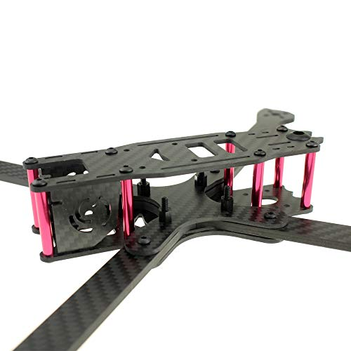 HUANRUOBAIHUO 360mm Carbon Fiber FPV Freestyle Frame Kit XL8 8inch 4mm Arms Quadcopter Frame Fit Drone Quadcopters Accessories
