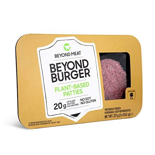 Beyond Meat - Burger Vegetale, senza Olio di Palma e Derivati Animali - 10 Pezzi (spediti in Confezioni da 10pz)