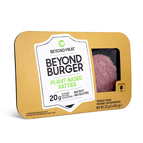 Beyond Meat - Burger Vegetale, senza Olio di Palma e Derivati Animali - 10 Pezzi (spediti in...