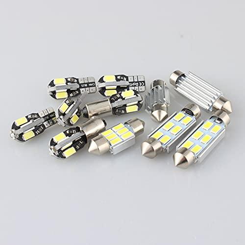 Kit de lámpara LED para Maletero con Mapa de Luces Interiores Canbus, para Audi TT TTS 8N 8J 8N3 8N9 8J3 8J9 Coupe Roadster 1999-2014