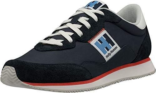 Helly Hansen Lifestyle Sneaker, Zapatillas Hombre, Azul (Navy/Off White/Cherry), 45 EU