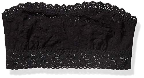 hanky panky Women's Signature Lace Lined Bandeau 487102 Black MD