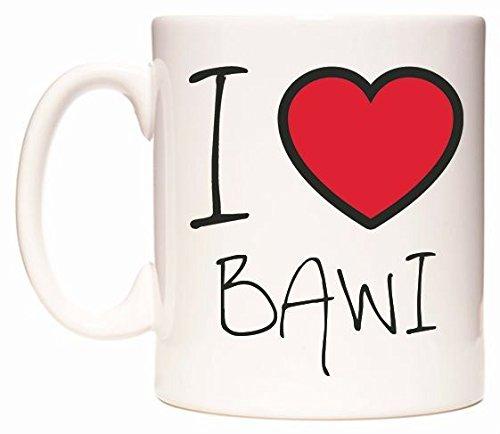I Love BAWI Tasse de WeDoMugs