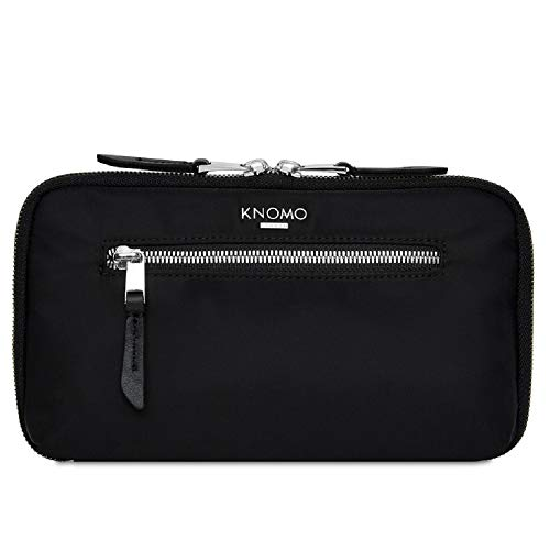 Knomo Mayfair Travel Organizer Travel Wallet, One Size, Black