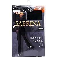 グンゼ GUNZE SBW17M-026-M-L SABRINA サブリナ Black(ブラック) 60デニール M-L ブラック レディース
