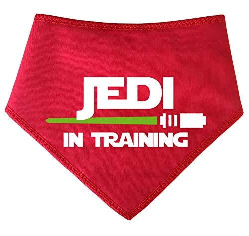 Spoilt Rotten Pets, S1 Jedi in addestramento Disegno Spada Laser, Extra Small, Red Dog Bandana Star Wars Jedi Ispirato Cosplay Vestito per Cani Adatto per Cani in Miniatura, Bassotti e Gatti