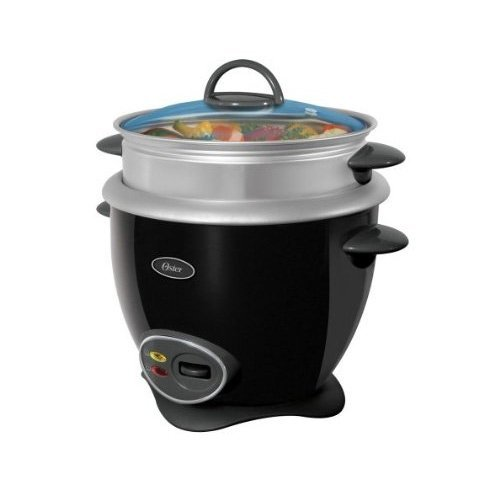 Oster 4751 7-Cup uncooked resulting in 14-Cup Cooked Rice Cooker, Black