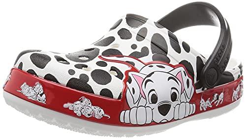 Crocs Kinder Schuhe Fun Lab 101 Dalmatians Clog 207193 White 33-34