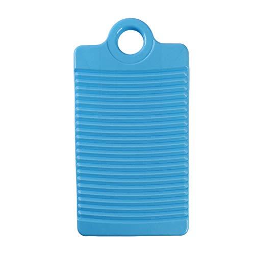 Aiasiry Mini Tabla De Lavar De Plástico Antideslizante para Colgar Tabla De Lavar Fija Limpia con Ropa De Estudiante, Azul