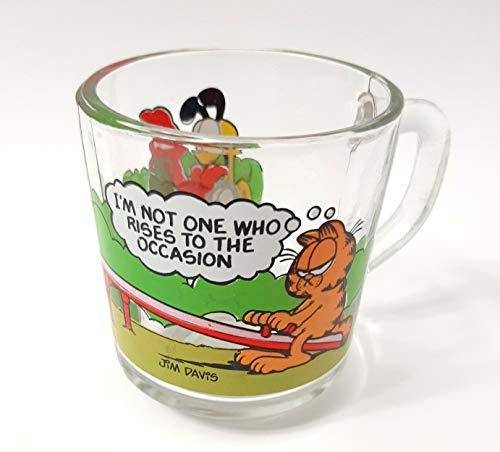 Garfield Characters Becher aus Glas mit Aufschrift