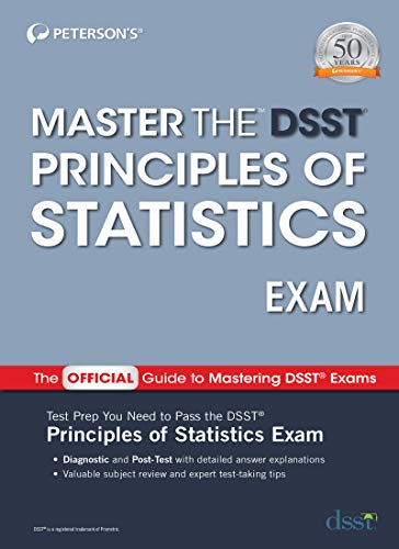 Master the DSST Principles of Statistics Exam