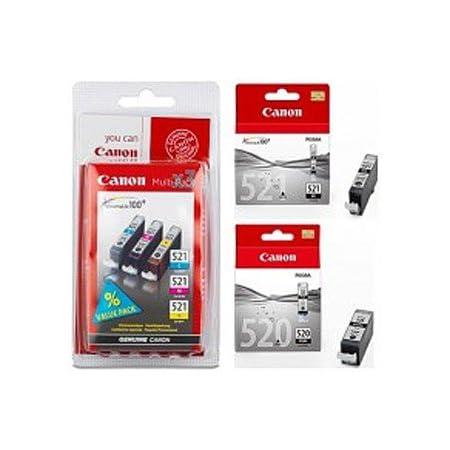 Canon Tintenpatronen Für Pixma Mp 640 Drucker 5 Stück Elektronik