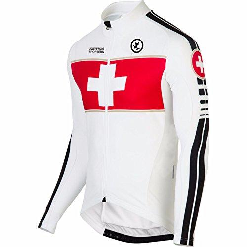 UGLY FROG MTB Neue Fahrradtrikot Langarm Shirt Herren Breathable Radfahren Fahrrad Lange Hülsen Jersey Fahrrad Hemd Männer Langarm Fahrradbekleidung Radfahren