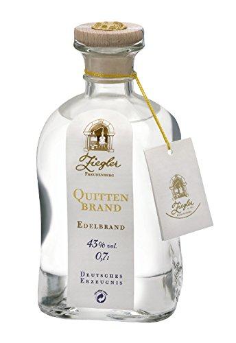 Ziegler Quittenbrand Obstbrand 43% 0,7 l Flasche