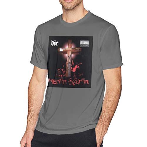 Heren T-Shirt D.O.C.#Helter Skelter korte mouw Katoen Fashion Rock TopsBlack