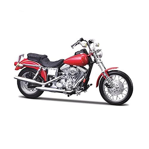 DSWS Motocicleta Miniatura 1:18 para Har&Ley-Davi&dson 1953 Alloy Diecast Motorycle Modelo de Juguete Trabajador para niños Regalos Colección de Juguetes (Color : 4)